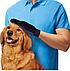 Перчатка для чистки животных,Перчатка для вычесывания шерсти животных True Touch, фото 5