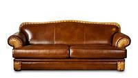 """Кожаный 3х местный диван """"Irene"""" (Ирене). (230 см)"""