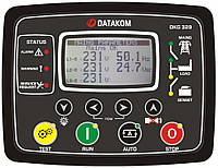 DATAKOM DKG-329-2G Контроллер автоматического ввода резерва (АВР) с поддержкой двух генераторов и синхроскопом