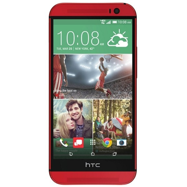 Смартфон HTC One M8 16GB Red