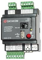 DATAKOM DKG-210 GPRS GSM и Ethernet Шлюз с источником питания постоянного тока