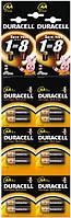 Батарейки Duracell LR06 MN1500 1х2 шт (отрывные 2х6)