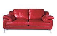 """Кожаный трехместный диван """"LULU"""" (Лулу). (226 см)"""