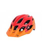 Шлем Green Cycle Enduro размер M оранжево-красный матовый, фото 1