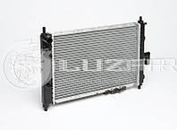 Радиатор охлаждения Matiz 0,8 ЛУЗАР (алюминиево-паяный) (LRc DWMz01141)