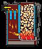 Котел утилизатор шахтный Бизон (Bizon ЕКО) 8 кВт. Бесплатная Доставка!, фото 4