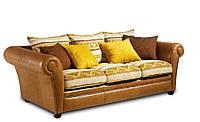 """Изысканный диван для гостиной в коже """"POMPEI"""" (Помпеи). (225 см)"""