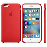 Чехол для iPhone Original silicone case for iPhone 6 Plus/6S Plus Red (Ц-000038332)