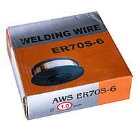 Проволока сварочная омедненная ER70S-6 1,0мм 4,5кг
