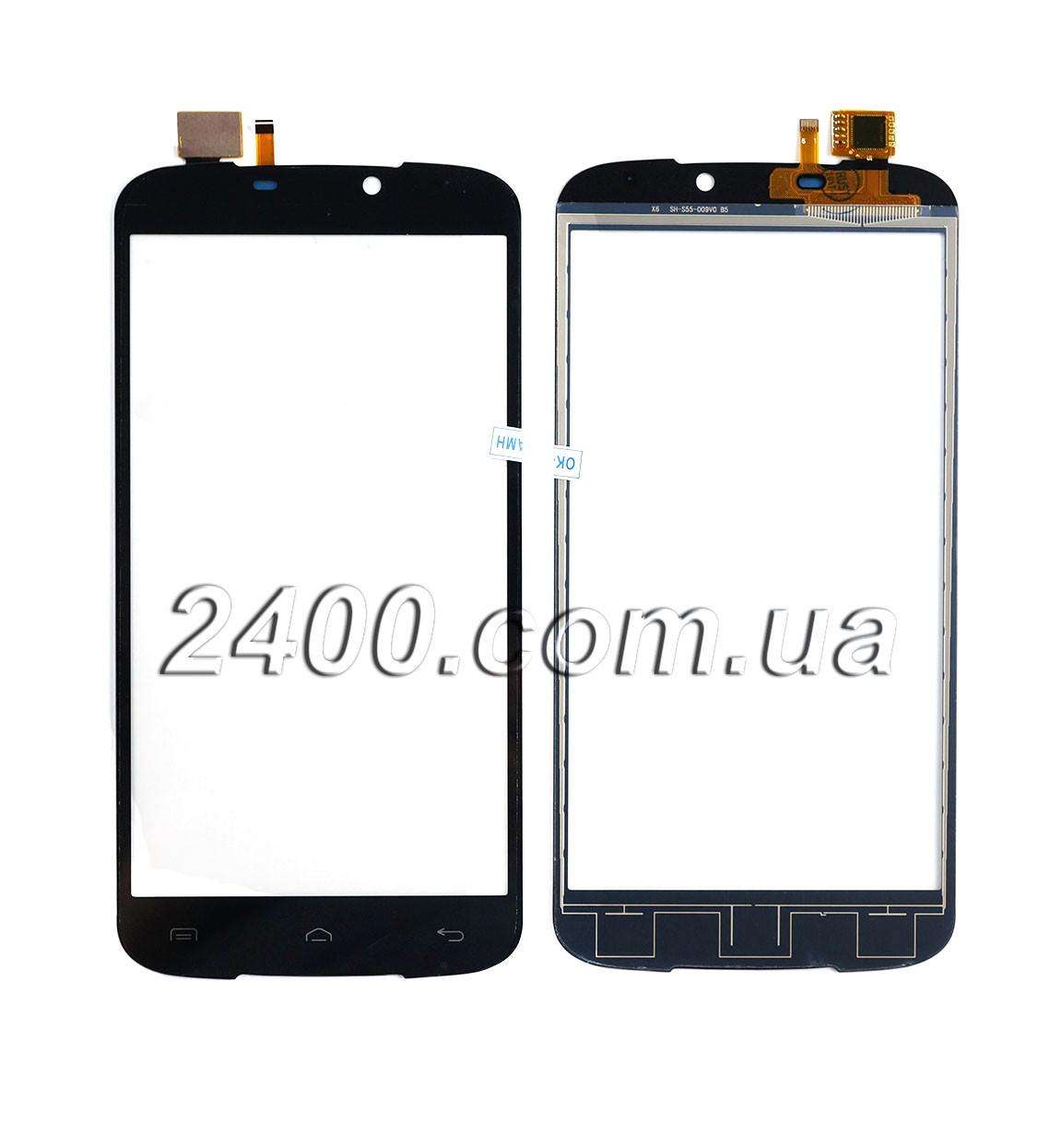 Сенсор Doogee X6 (touchscreen) - тачскрін для телефонів Дугі Х6 (X 6) чорний