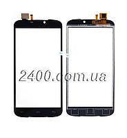 Сенсор Doogee X6 (touchscreen) - тачскрин для телефонов Дуги Х6 (X 6) черный