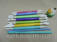 Стеки разноцветные 9 шт