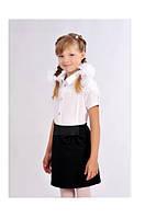 Белая школьная блуза