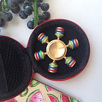 Спиннер Spinner Игрушка Железный  Золотой игрушки-вертушки Fidget Spinner игрушка-вертушка
