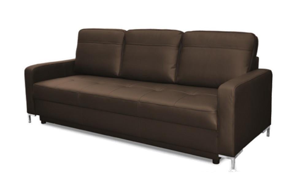 """Мягкий раскладной кожаный диван """"FX-10 LIGHT 3R"""" (218см)"""