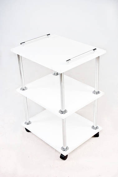 Косметологическая тележка / столик мастера (белый)