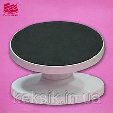 Подставка для торта наклонная 25 см - поворотный столик для рисования на пряниках