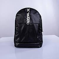 Черный рюкзак с абстракцией Р20 TWINS STORE