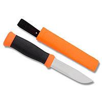 Нож Morakniv Outdoor 2000, нерж. сталь, оранжевый, фото 1