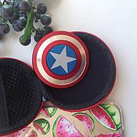 Спиннер Spinner Игрушка Железный  Капитан Америка Щит игрушки-вертушки Fidget Spinner игрушка-вертушка