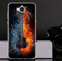 Оригинальный чехол бампер для Huawei Y5 2017 с картинкой Гитара