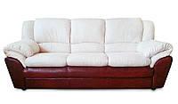 """Мягкий кожаный диван """"LEO-B"""" (Лео-В). (187 см)"""