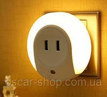 Зарядка перехідник-світильник на 2 USB