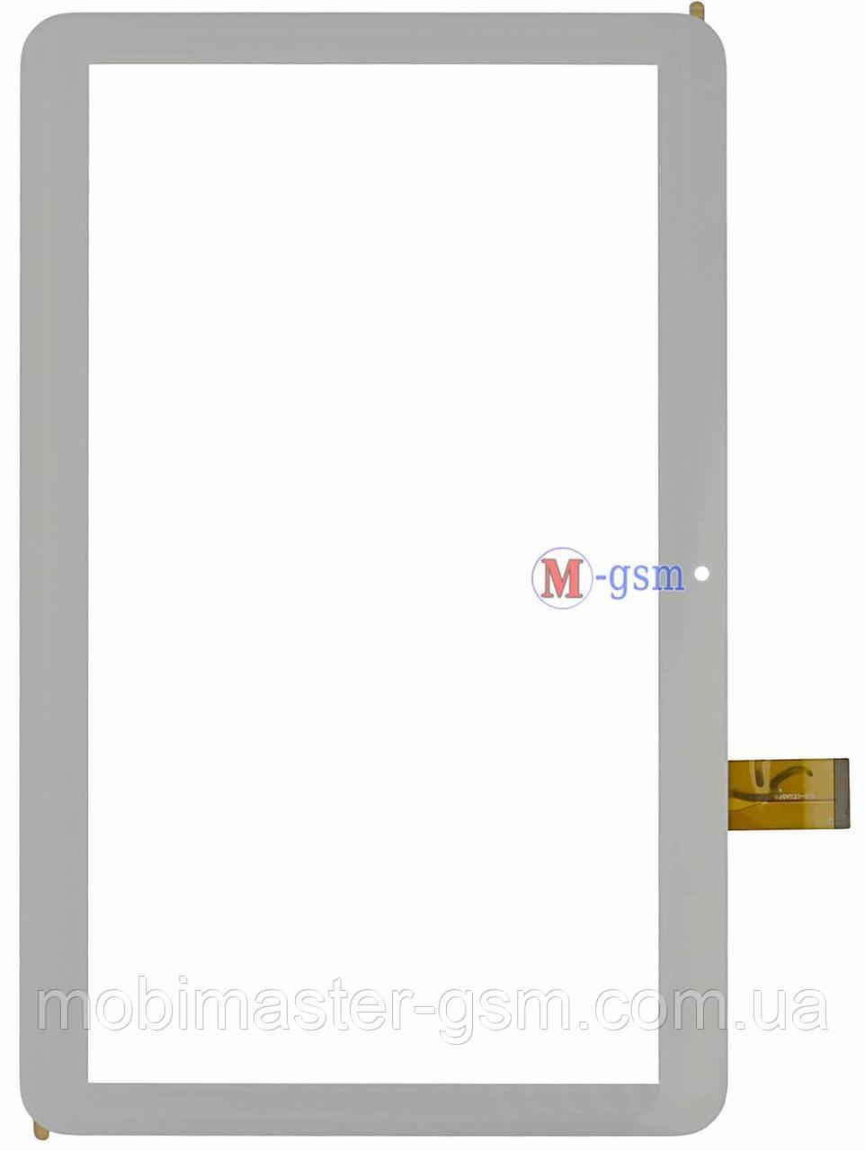"Тачскрин (сенсорный экран) 10.1"" 51 pin Tesla Magnet 3G (p/n: YLD-CEGA566-FPC-A0, Yld-cega617-fpc-a0 ) белый"