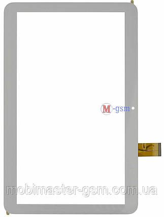 """Тачскрин (сенсорный экран) 10.1"""" 51 pin Tesla Magnet 3G (p/n: YLD-CEGA566-FPC-A0, Yld-cega617-fpc-a0 ) белый, фото 2"""