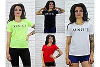 """Женская футболка """" VOGUE """""""