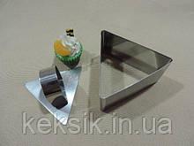 Форма для формирования треугольник 4см