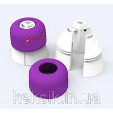 Перехідник для триколірних кремів з додатковими кільцями для різних насадок