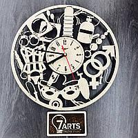 Часы настенные дизайнерские 18+ «Для двоих»