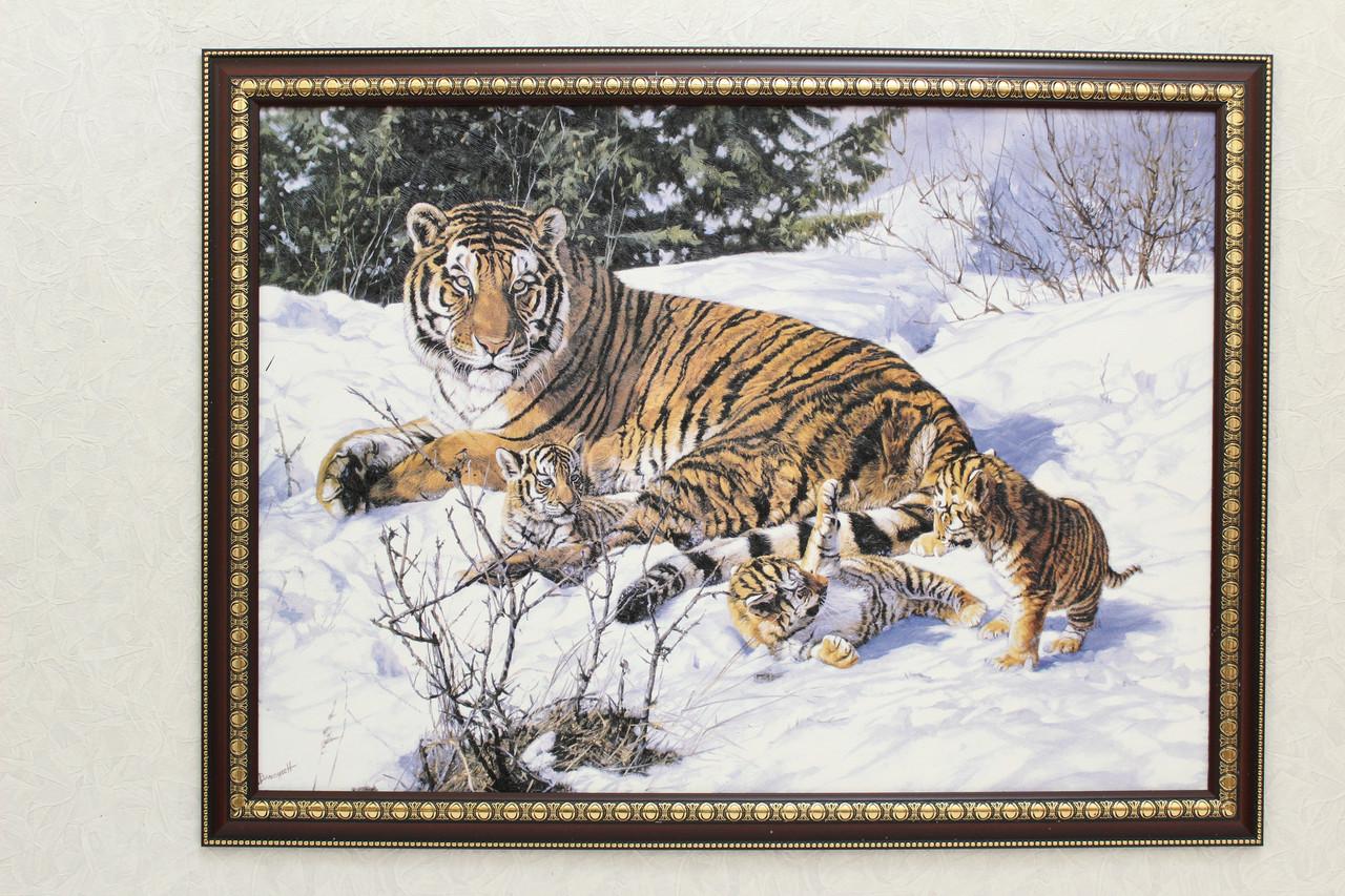 """Картина """"Тигры"""""""