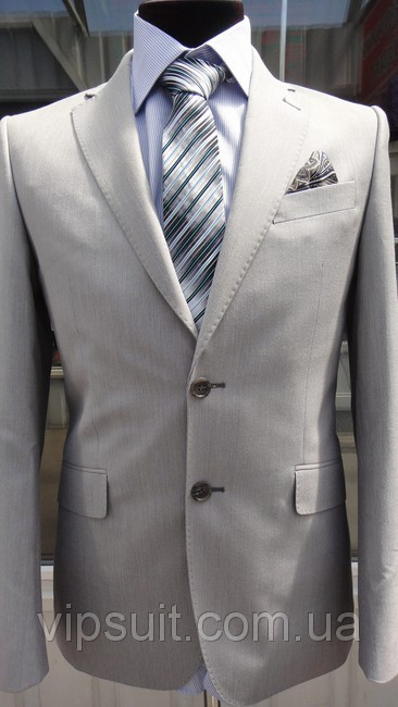 Мужской костюм Braga модель 14101-145 лен