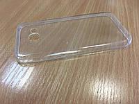 Прозрачный силиконовый чехол 0.3мм для Samsung A520