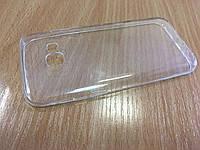 Прозрачный силиконовый чехол 0.3мм для Samsung A320.Категория Extra.