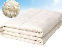 Одеяло Le Vele Pure Wool шерстяное 195-215 см кремовое