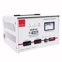 Стабилизатор напряжения 1500ВА 1кВт SERVO однофазный электромеханический Eltis