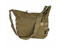 Сумка через плечо 17л Helikon BUSHCRAFT SATCHEL® BAG - CORDURA® Coyote TB-BST-CD-11