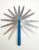 Набор щупов измерительных в пластике 0.02-1.00 мм (17 лепестков)