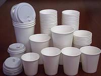 Одноразовый бумажный стакан 500 мл белый (25 шт)