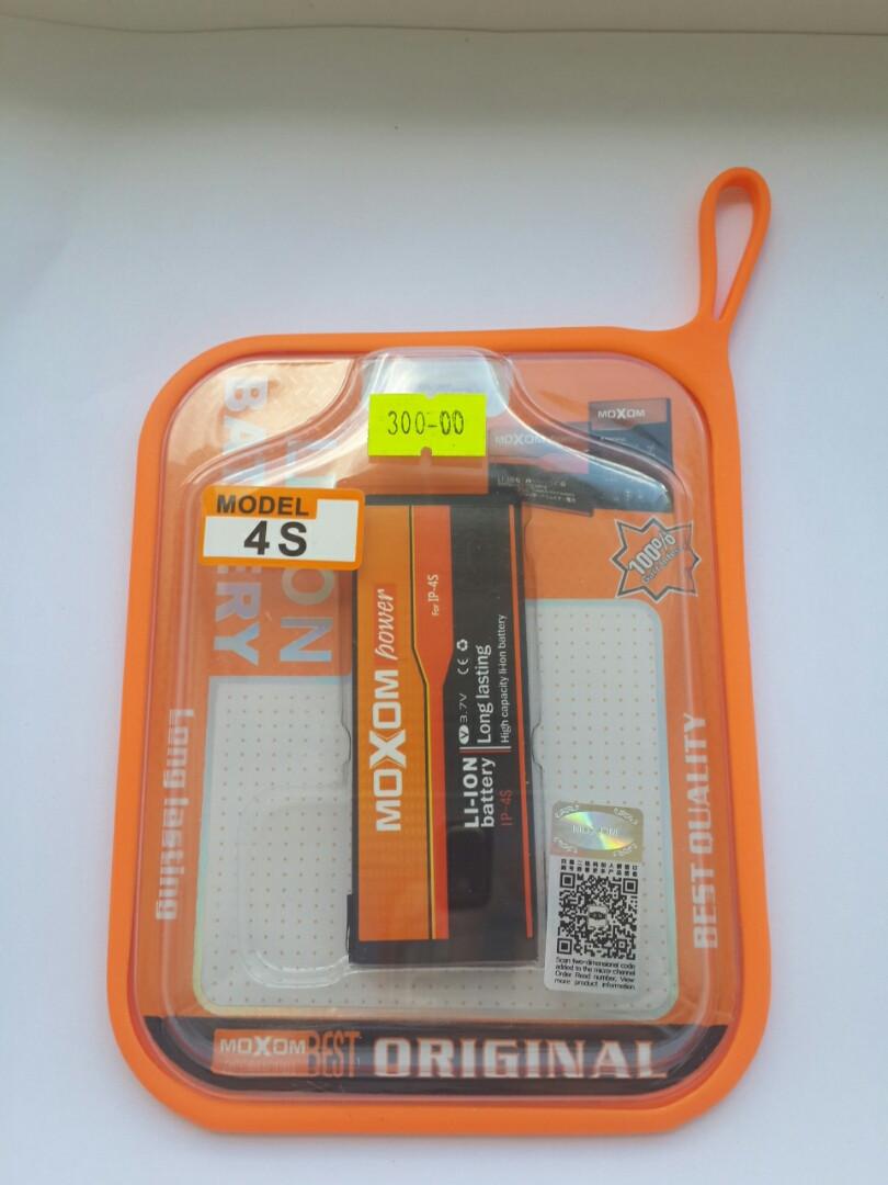Аккумулятор АКБ для iPhone 4S MOXOM