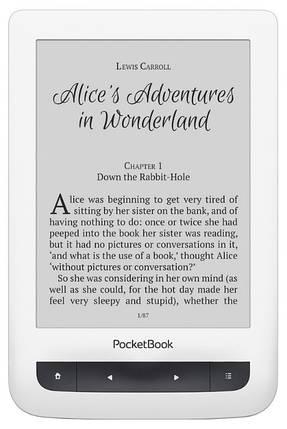 "Электронная книга 6"" PocketBook 626 Touch Lux 3 White, фото 2"