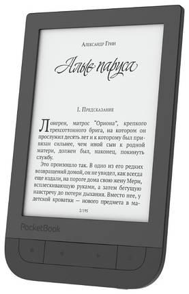"Электронная книга 6"" PocketBok 631 Touch HD Black, фото 2"