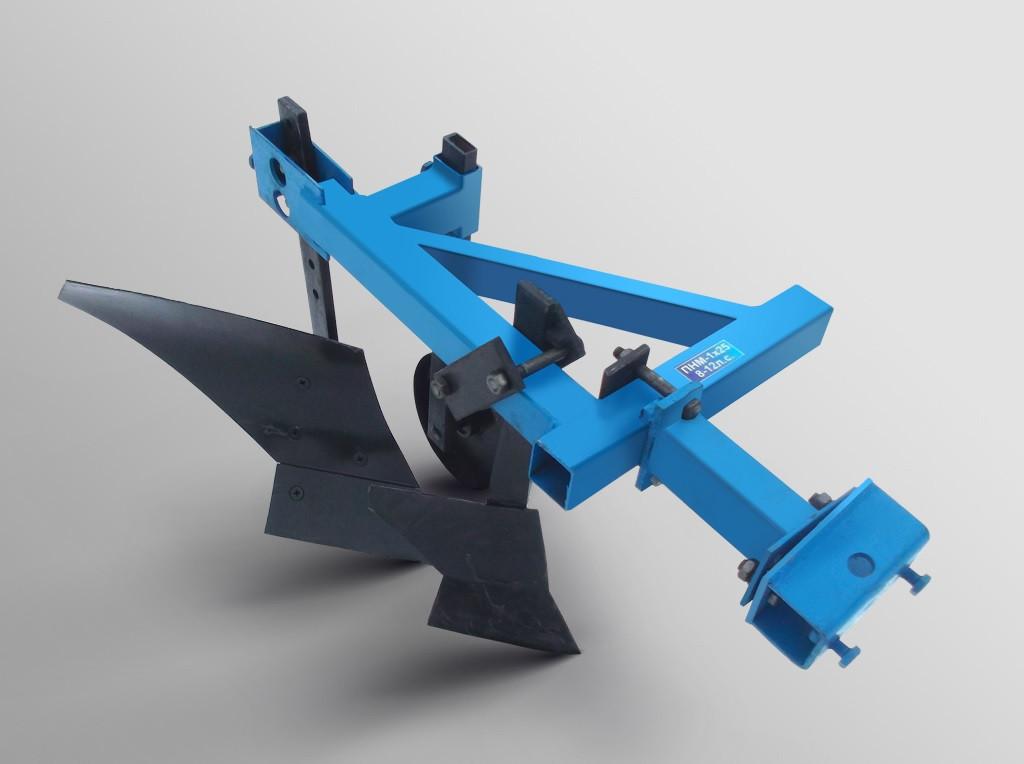 Плуг з передплужником опорним колесом ТМ АРА для важких мотоблоків