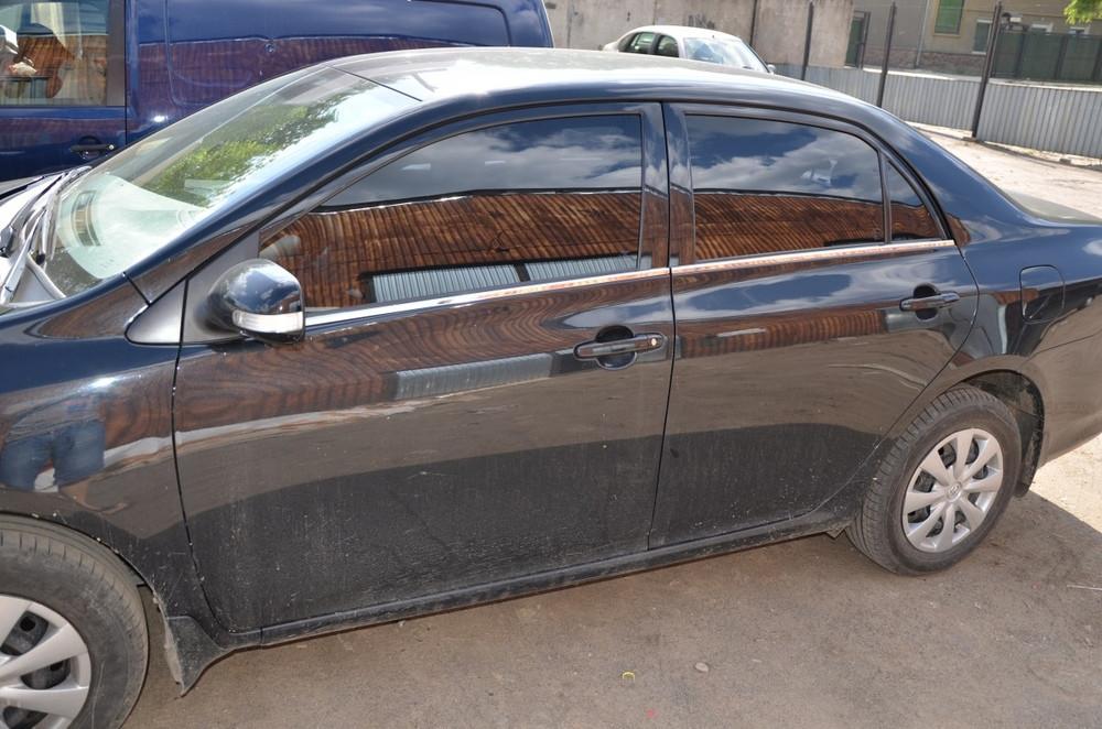 Окантовка стекол для Тойота Королла 2007-2013 (4шт) - Автомагазин Баклажан - тюнинг для авто, запчасти, автохимия, автоаксессуары. в Киеве