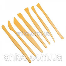 Инструменты для полимерной глины 7 шт. Стеки / Інструменти для полімерної глини 7 шт.
