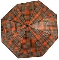 Женский симпатичный стильный прочный механический дешевый зонтик SWIFTs art. 301A клеточка(101219)