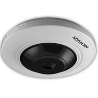 "Turbo HD камера ""рыбий глаз"" Hikvision DS-2CC52H1T-FITS, 5 Мп"